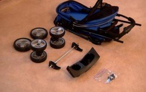 Pet Stroller Assembly and Maintenance