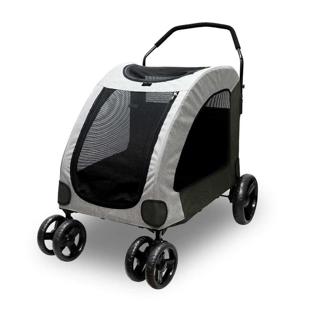 Petbobi 4 Wheel Pet Stroller