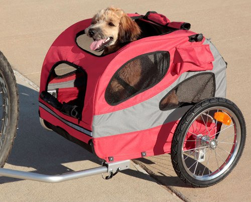 Solvit Houndabout Dog Bike Trailer Review Furwheelscom
