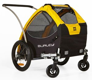 Review of the Popular Burley Tail Wagon Pet Trailer