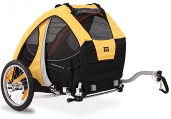 Review of the Popular Burley Tail Wagon Pet Trailer-Furwheels com