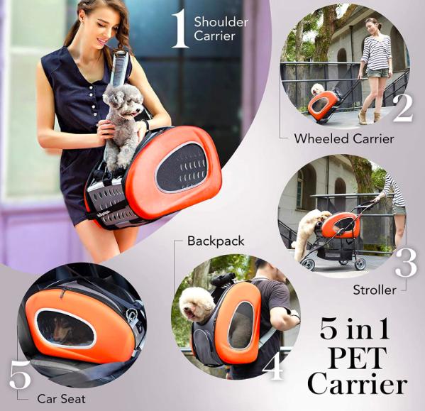 Ibiyaya pet carrier orange
