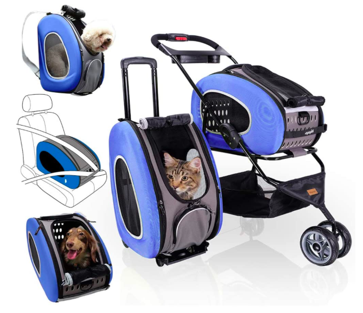 all in one pet stroller