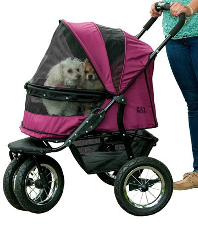 Pet Gear Double Large Dog Stroller 2