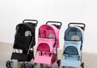 Vivo 4 wheel pet stroller colors