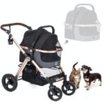 Prime 3 in 1 pet stroller