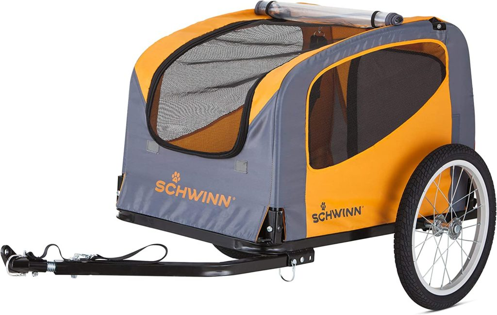 Dog trailer for bike Schwinn Small